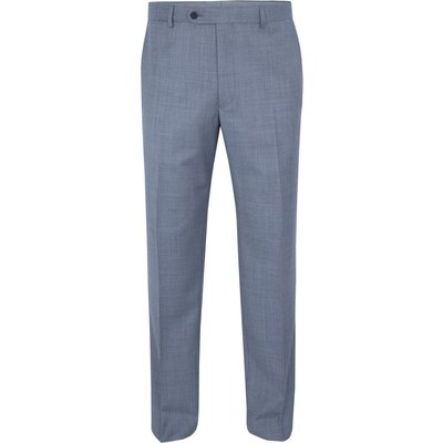 Men's Paul Costelloe Modern fit light blue suit trousers, Light Blue