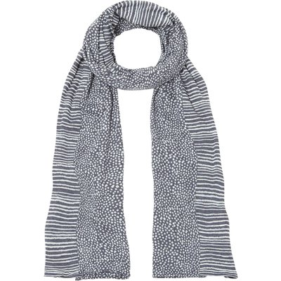White Stuff Suqi Spot Scarf, Grey