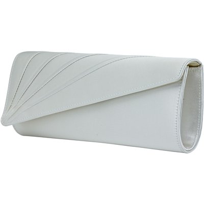 Rainbow Club Tess clutch bag, White