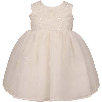 Heritage Girls Holly Dress, White