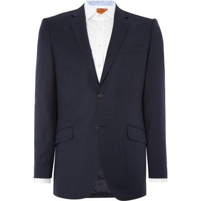 Men's Simon Carter Tailored Twill Single Breasted Jacket, Blue