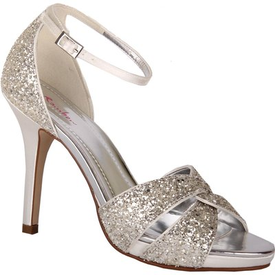 Rainbow Club Charlotte ankle strap sandals, Silver