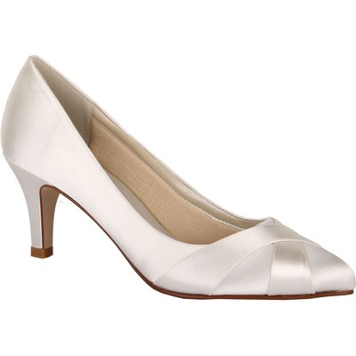 Rainbow Club Lexi crossover court shoes, White