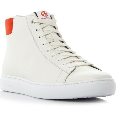 PS By Paul Smith Shima pop collar hi-top trainers, White