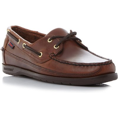 Sebago Schooner 2 eye classic boat shoes, Brown