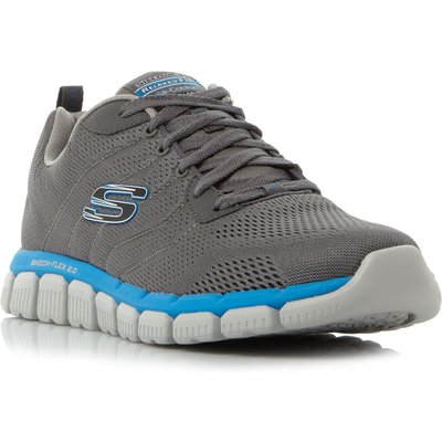 Skechers Skech-flex milw mesh trainers, Grey
