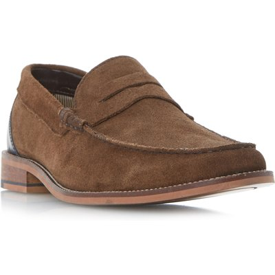 Howick Righteous classic smart loafers, Brown
