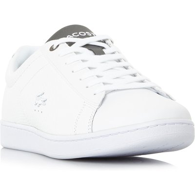 Lacoste Carnaby Evo Reptile Print Trainers, White
