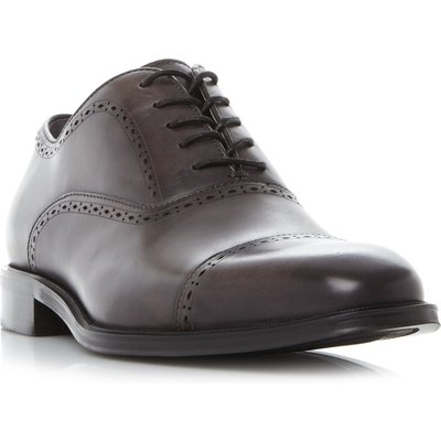 Kenneth Cole Design 10221 Punched Toecap Oxford Shoes, Grey
