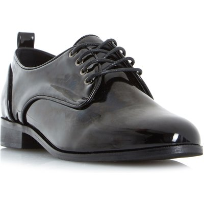 Head Over Heels Gretta Lace Up Brogue Shoes, Black