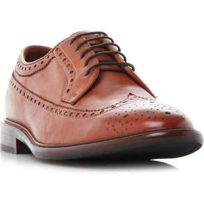 PS By Paul Smith Malloy Wingtip American Brogue Shoes, Brown