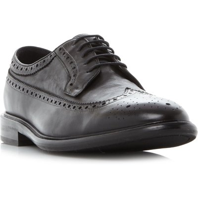PS By Paul Smith Malloy Wingtip American Brogue Shoes, Black