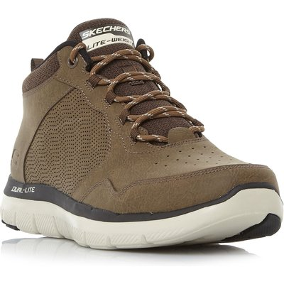 Skechers Flex Ad 2.0 Perf Hiker Boot Trainers, Tan