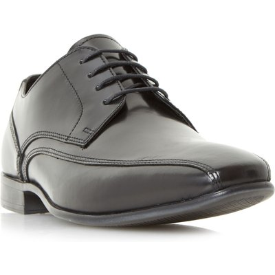 Howick Presly Tramline Gibson Shoes, Black