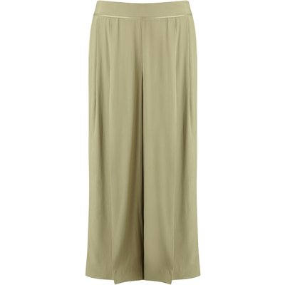 Jacques Vert Cropped Trouser, Green