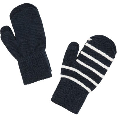 Polarn O. Pyret Babies Twin Pack Magic Gloves, Blue