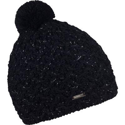 Sabbot Cable Knit Beanie, Black