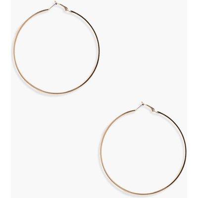 Oversized Hoop Earrings - gold
