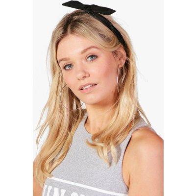 Bend Tie Headscarf - black