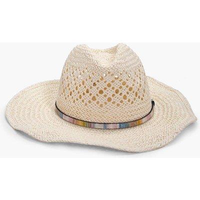 Stetson Straw Hat - cream