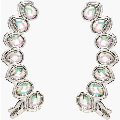 Holographic Ear Cuff Set - silver