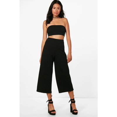 Bandeau & Culotte Co-ord Set - black