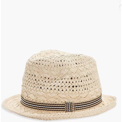 Friendship Bold Straw Hat - cream
