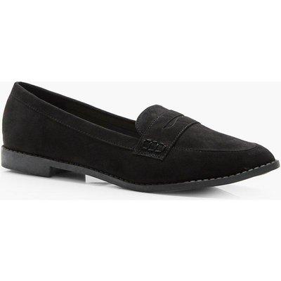 Flat Loafer - black