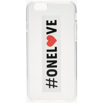 iPhone 6 Case One Love - white