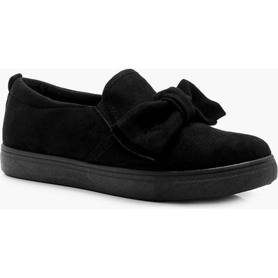 Bow Trim Skater - black