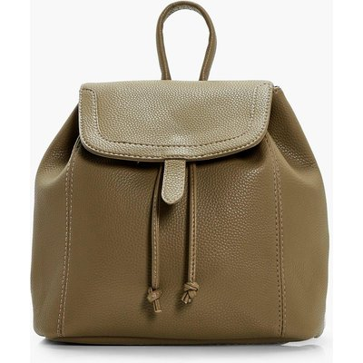 Entry Painted Edge Rucksack - khaki