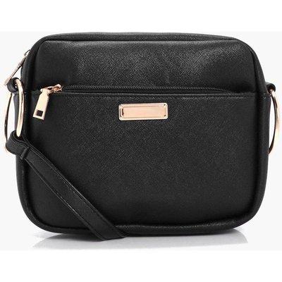Crosshatch Camera Bag - black