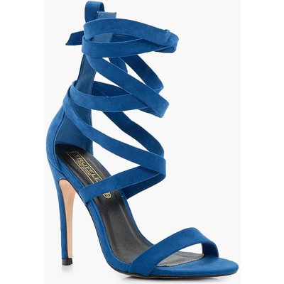 Wrap Up Gladiator Heel - cobalt