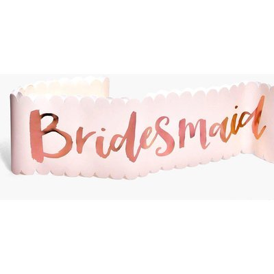 Hen Party Sash 2 Pack - rose gold