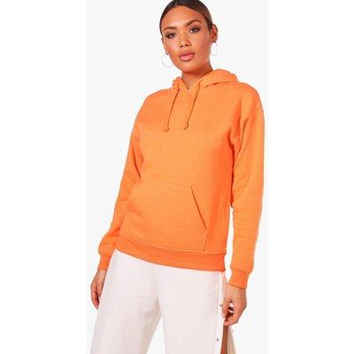 Bright Overhead Hoody - orange