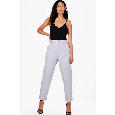 O Ring Slim Fit Tailored Trousers - dove