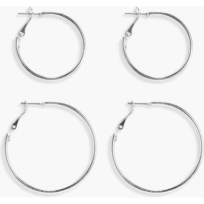 Hoop 2 Pack - silver