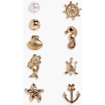 Assorted Nautical Earring Pack - multi