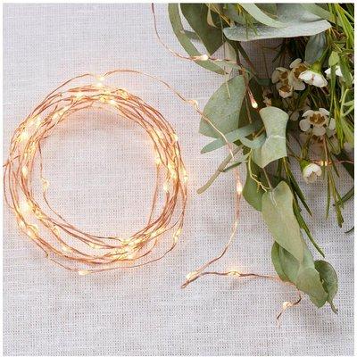 Rose Gold Fairy Lights - rose gold