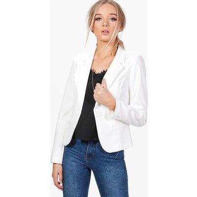 Tailored Blazer - white