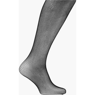 Medium Scale Fishnet Tights - black