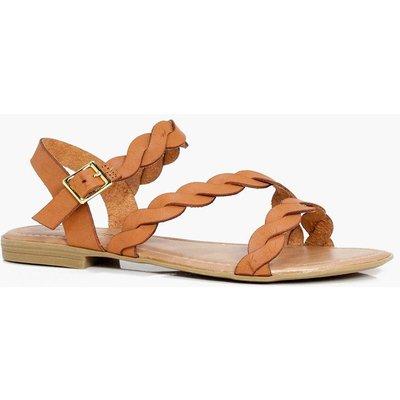 Circle Detail Sandal - nude