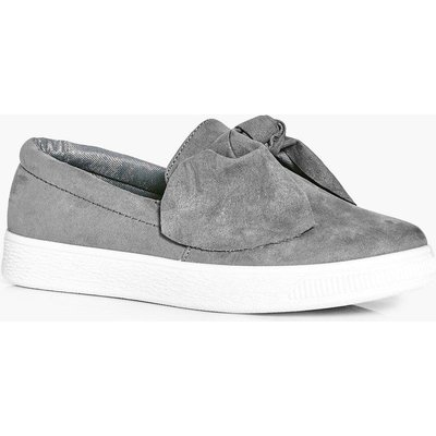 Bow Front Skater - grey