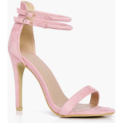 Double Ankle Band 2 Part Heels - pink