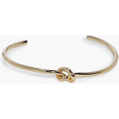 Skinny Knot Bangle - gold