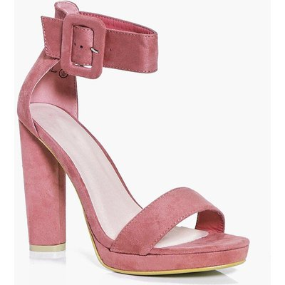 Cylinder Two Part Heels - blush