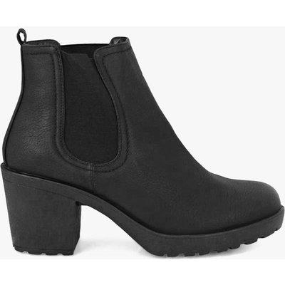Block Heel Chelsea Boot - black