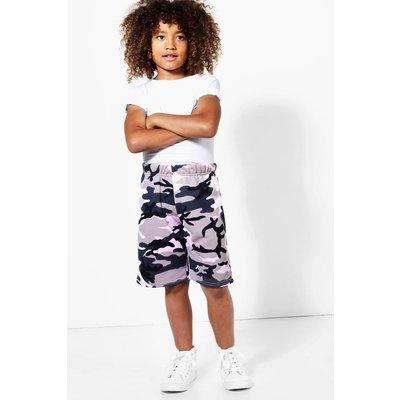 Camo Loopback Shorts - camo