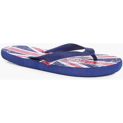 Union Jack Flip Flop - blue