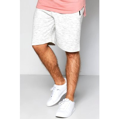 Length Space Dye Short With Zip Pockets - grey